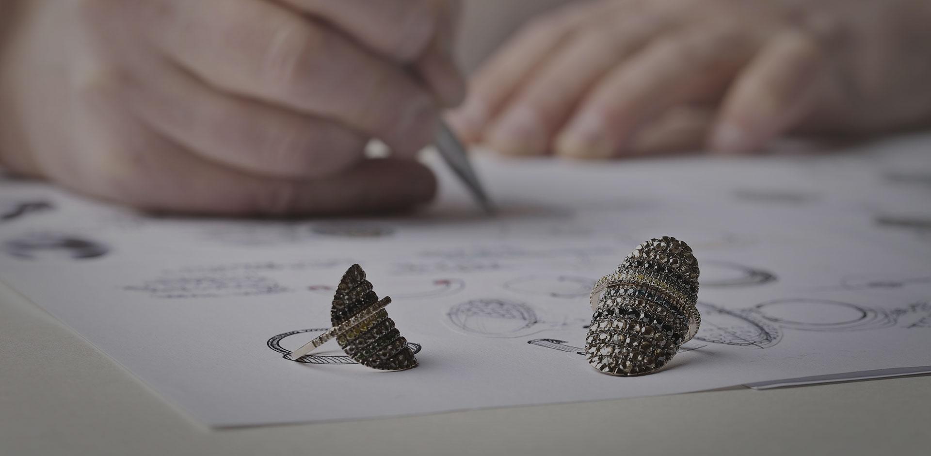 dessiner les bijoux